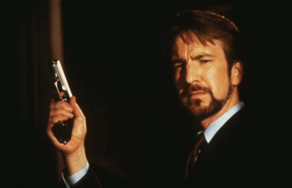 Rickman's suave villain Hans Gruber was one hell of a movie debut...