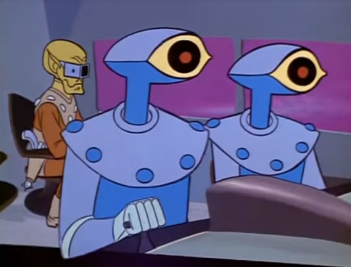 The villains in the series tended to embrace Space Age technology, a sharp contrast to the Stone Age aesthics of the Herculoids themselves.