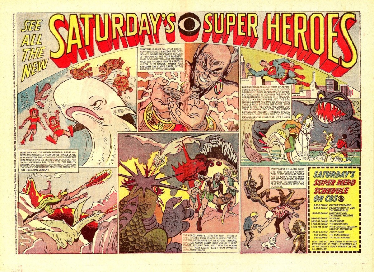 CBS's Saturday morning lineup for 1967