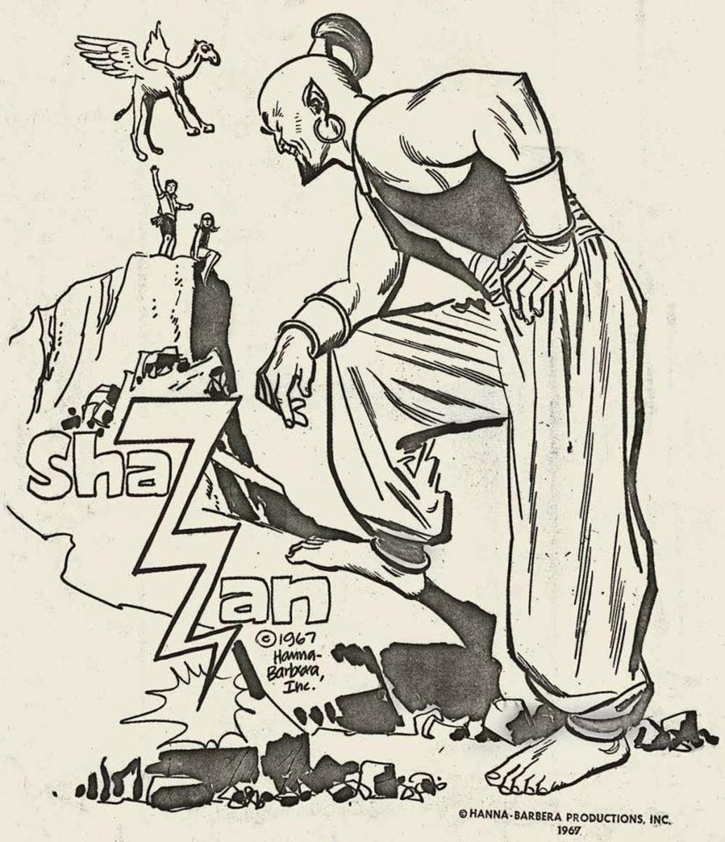 Artwork for Shazzan by Alex Toth