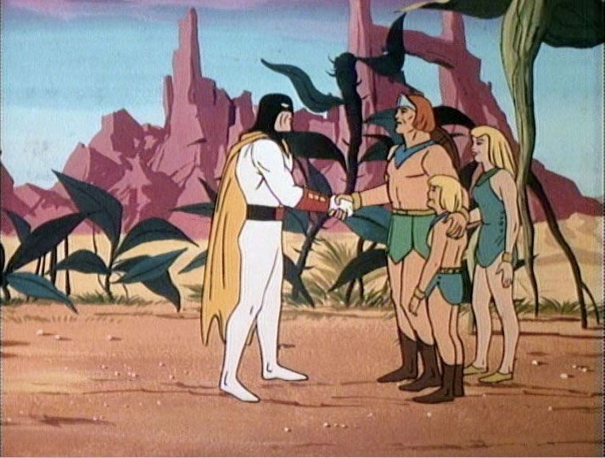 The Herculoids would eventually meet Space Ghost in the early 80s.