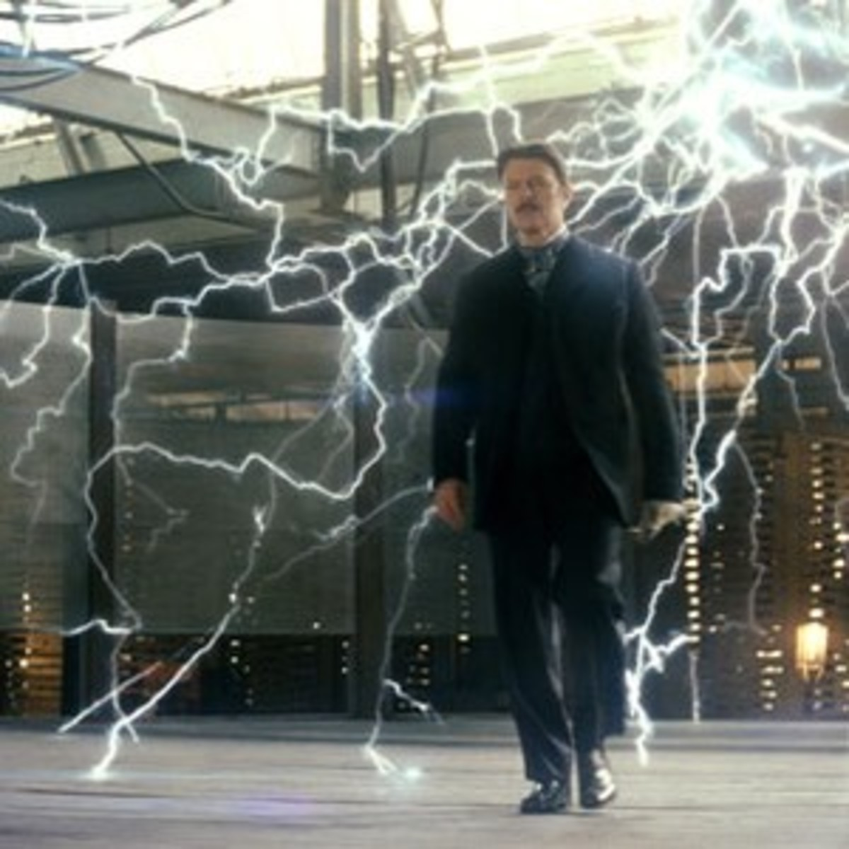 Nikola Tesla in The Prestige.