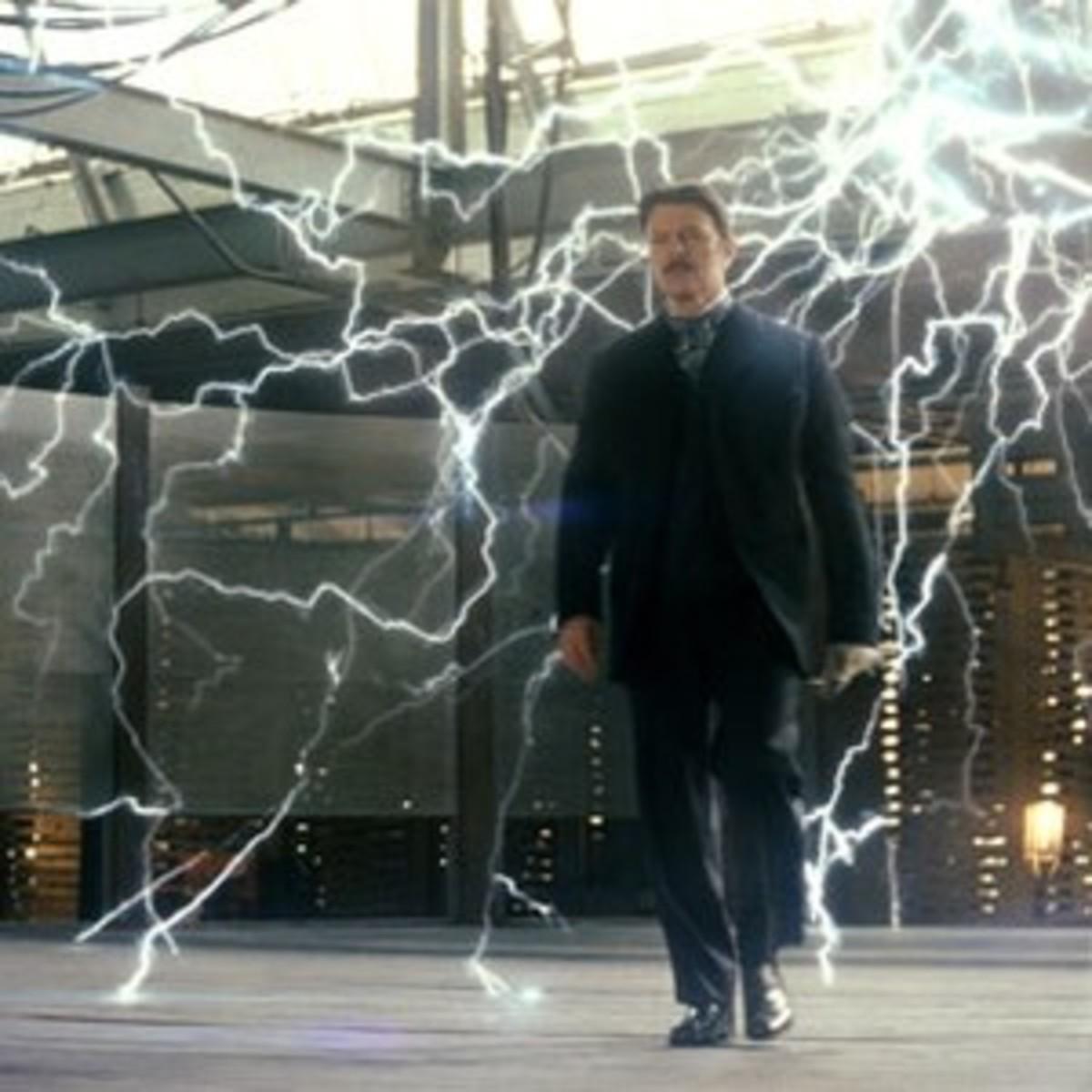 Nikola Tesla in The Prestige.