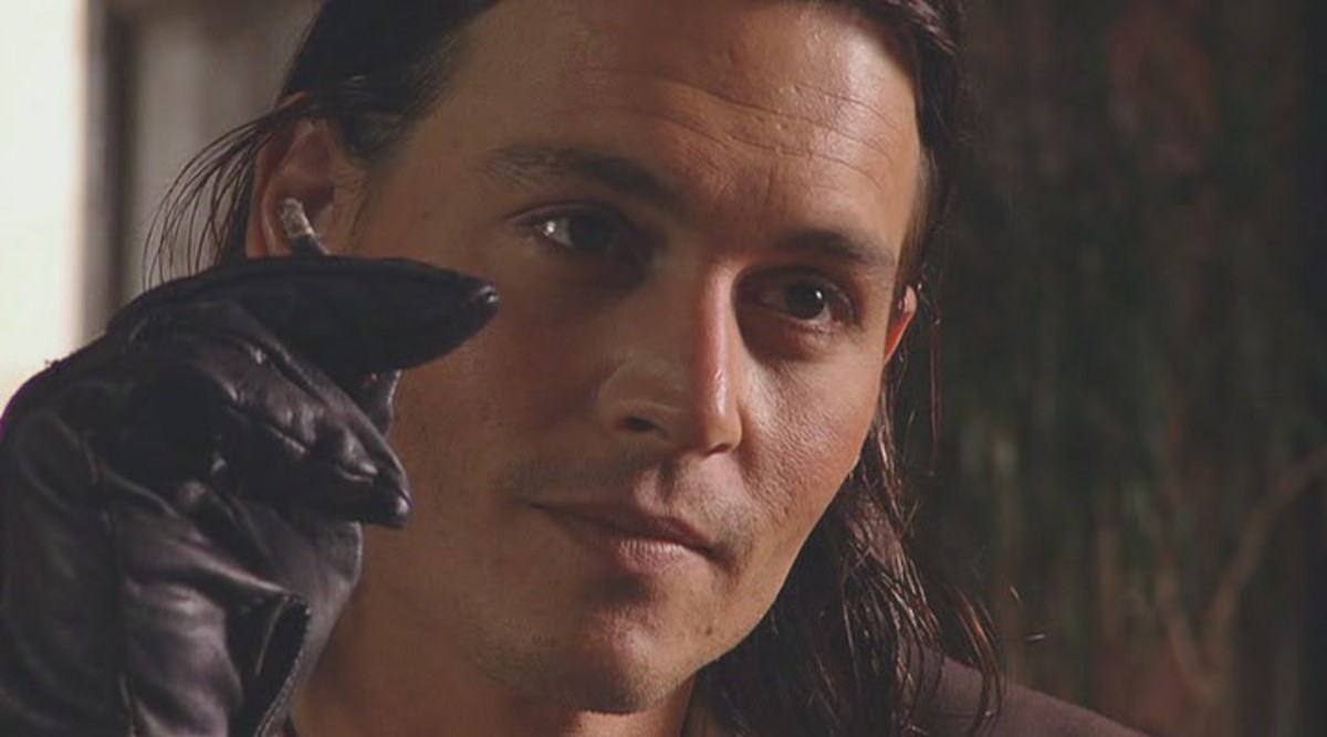 Depp's deranged performance helps the film to feel completely unhinged...