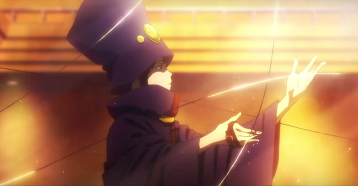 "The mysterious urban legend called ""Boogiepop"". The grim reaper who kills girls when they are at their most beautiful."