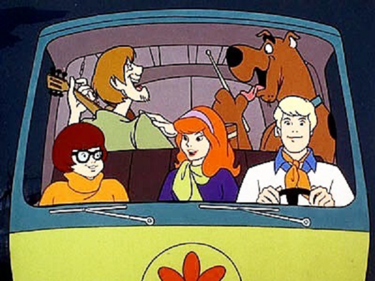 "The Mystery Machine was one of the aspects of the ""traveling band"" concept that was kept."