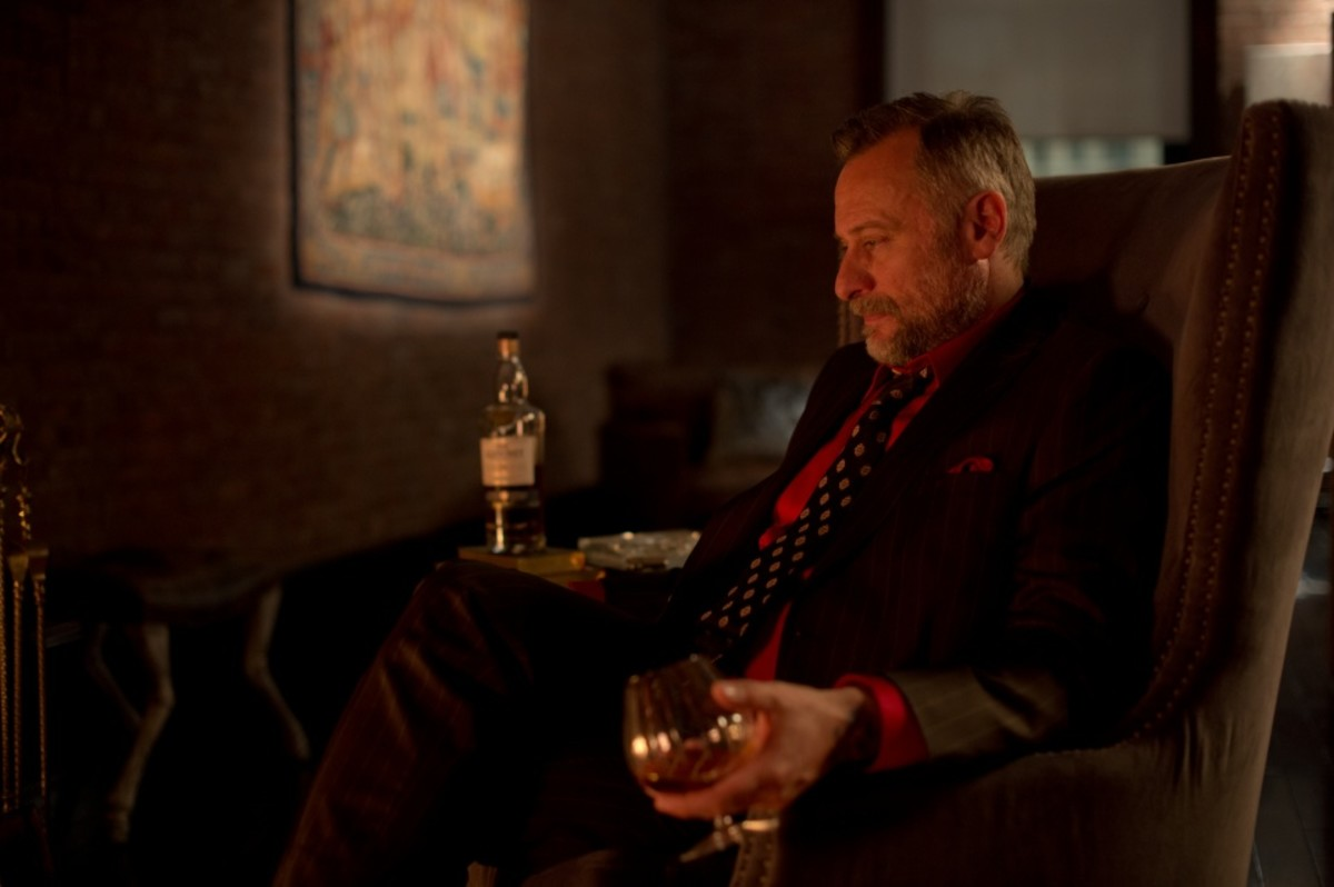 Nyqvist's Russian mobster is a quality foil for Wick - expressive, colourful and a man of words rather than action.