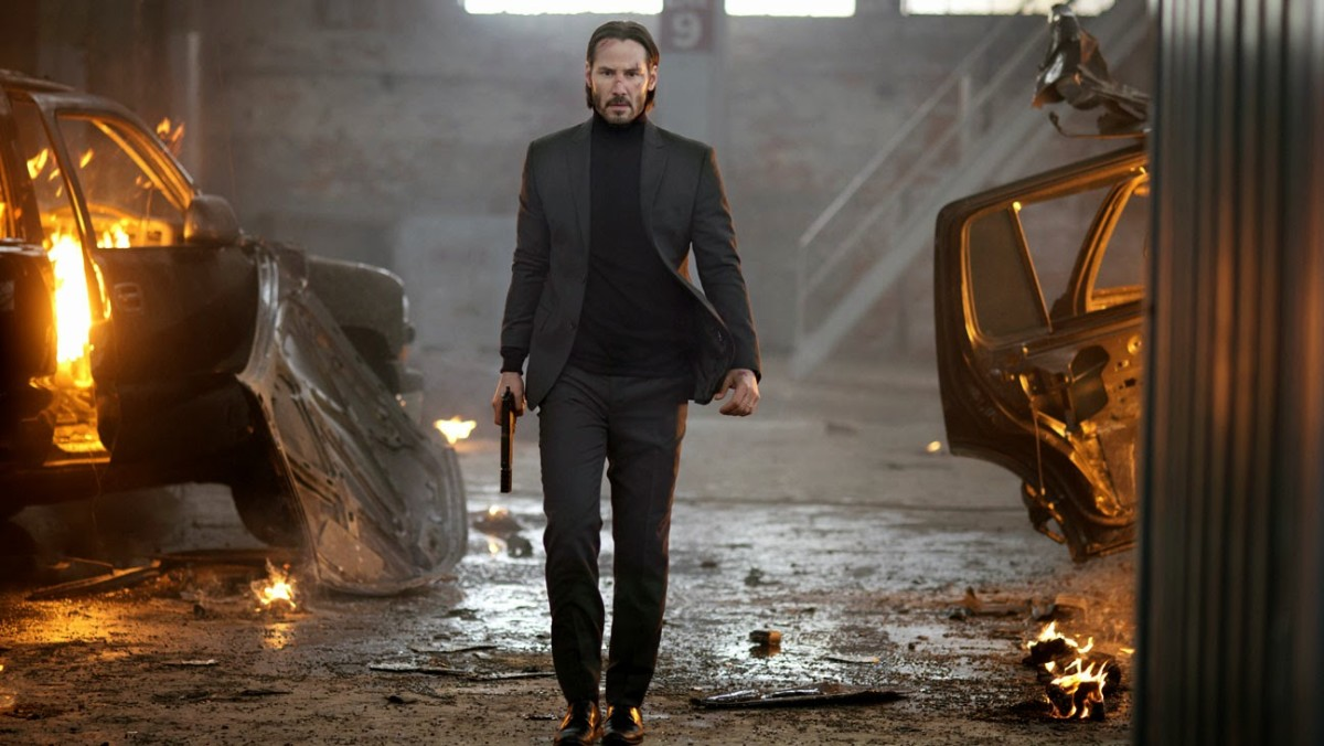 Reeves is back to his action-movie best, feeling like Neo having a mid-life crisis and laying waste to all and sundry.