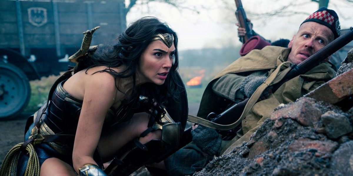 Gadot (left) certainly looks the part as Diana but she lacks the charisma and power needed for the role, feeling more like a fashion statement instead of a legendary warrior.