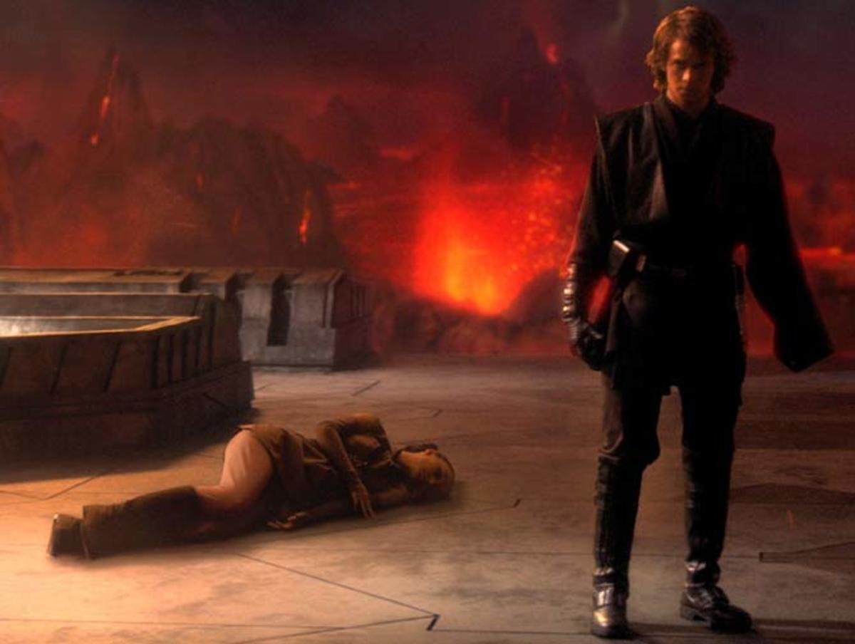 Christensen finally sends Anakin to the Dark Side but he still underwhelms in the role.