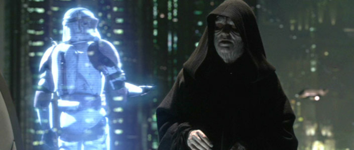 McDiarmid finally gets to revel in his role of the villainous Darth Sidious...