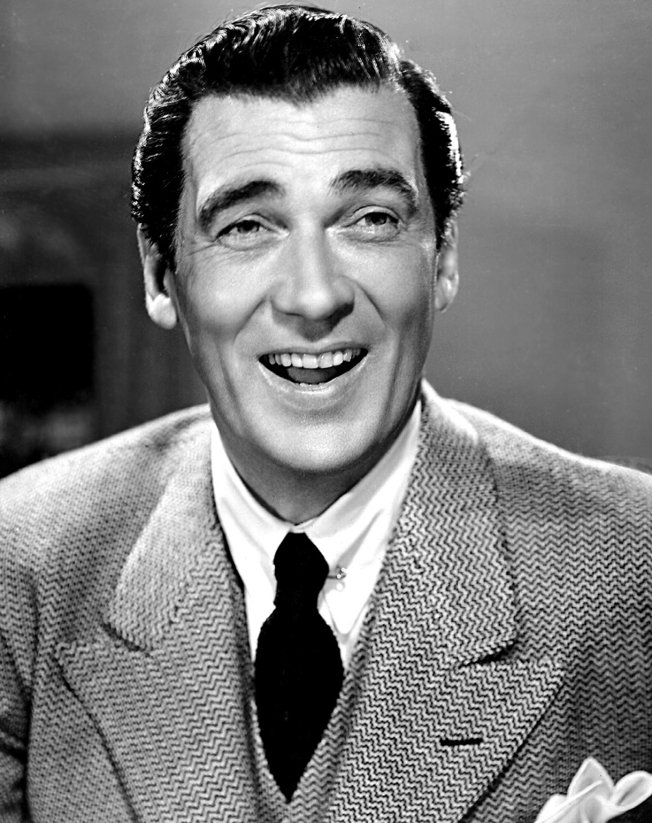Walter Pidgeon in an MGM studio portrait