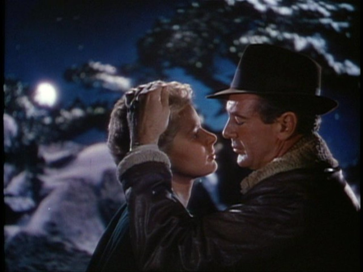 """Gary Cooper with Ingrid Bergman in the 1943 film """"For Whom the Bell Tolls"""""""