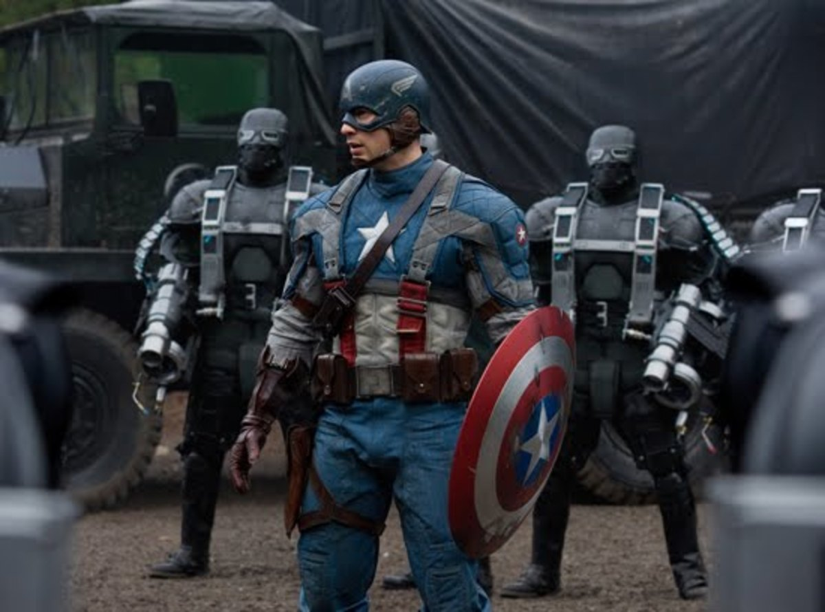 """Cap takes the fight to HYDRA in """"Captain America: The First Avenger"""""""