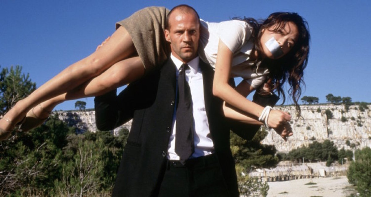 "Statham gets more than he bargained for in ""The Transporter"""