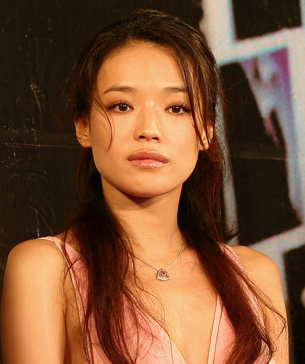 Shu Qi plays Statham's damsel-in-distress in her second language...