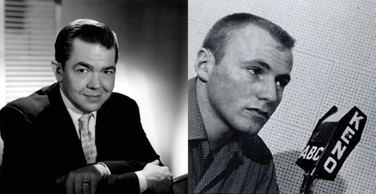 Marvin Miller (left) provided the voice of Aquaman, while Jerry Dexter (right) voiced Aqualad.