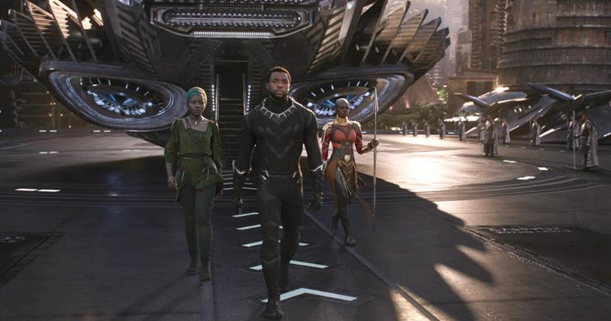 Wakanda is a visually interesting and oddly believable world, full of colour and movement while still retaining plenty of African flavour.
