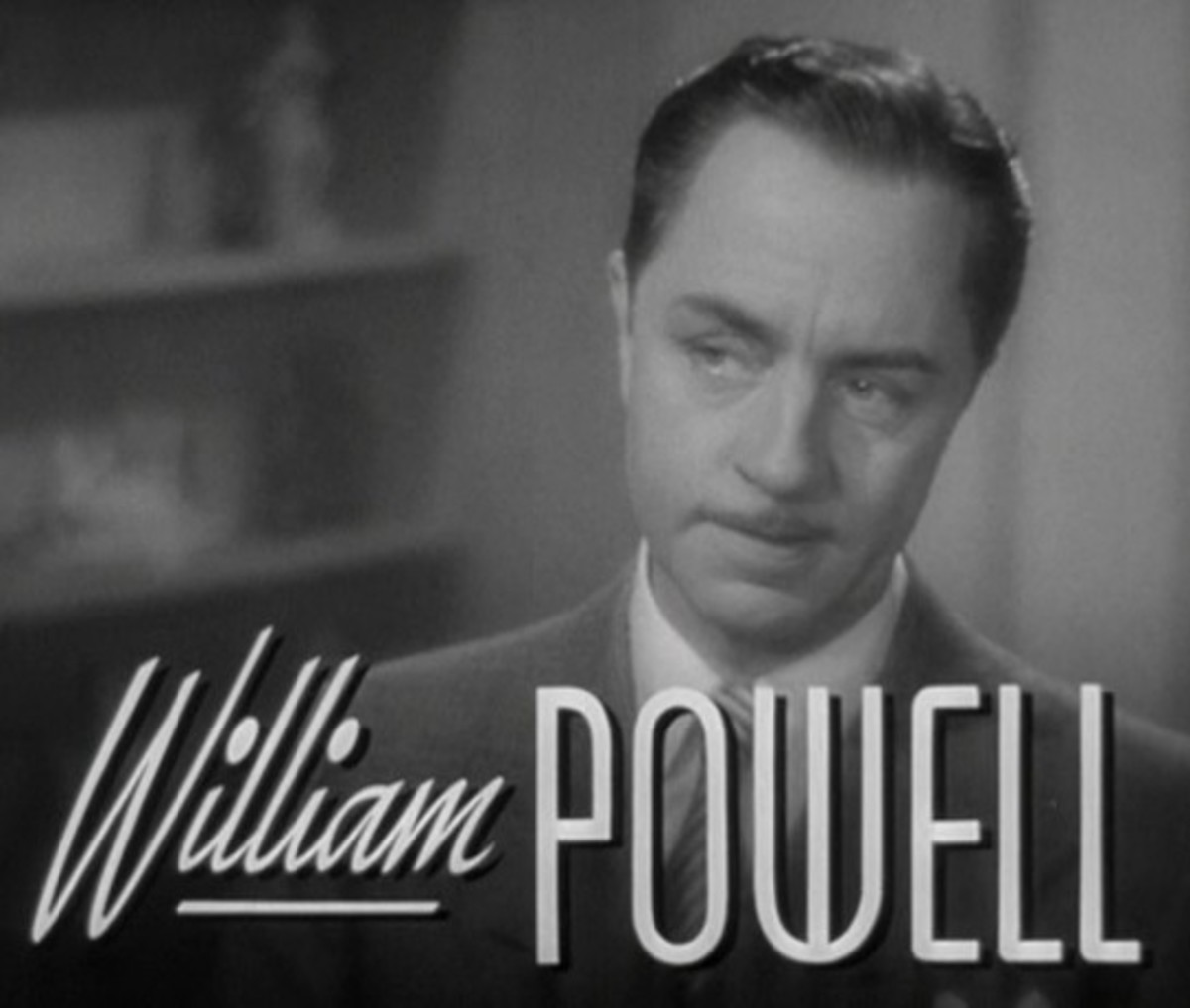 William Powell in a screenshot from the trailer for Another Thin Man (1939)