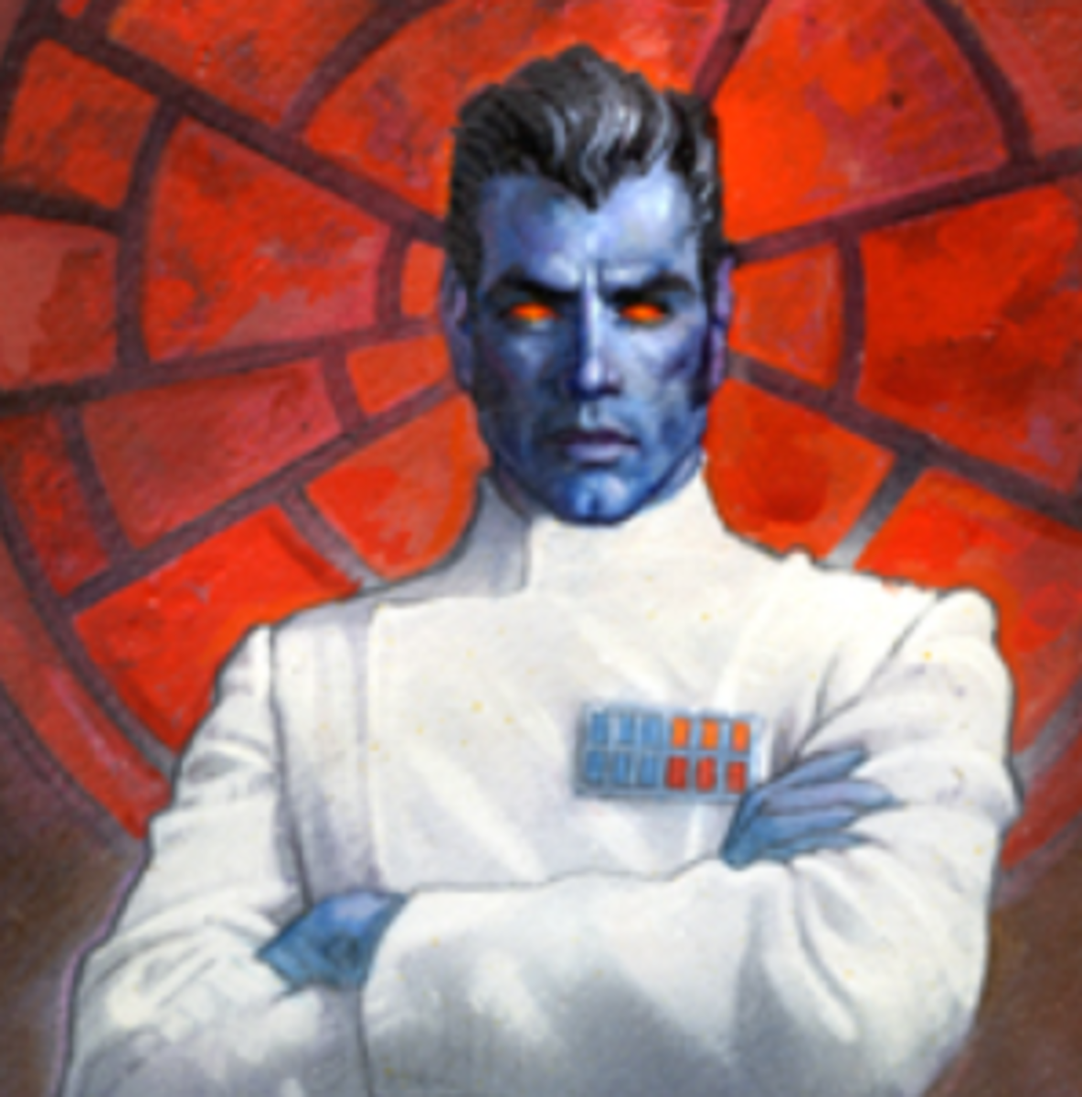 Grand Admiral Thrawn proved that the Imperial fleet had a backbone during his time in charge of the remnants of the Empire.