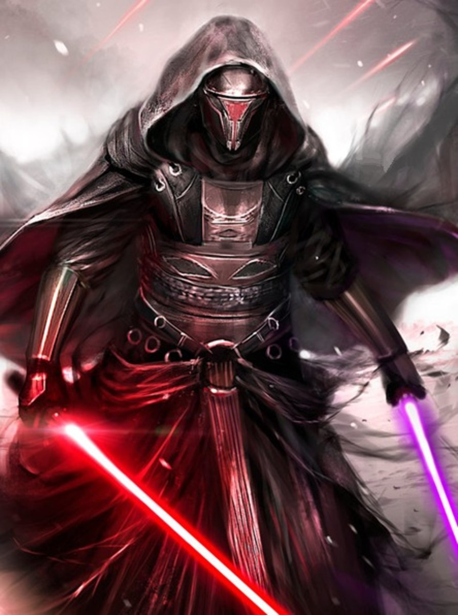 "Revan is a fan favorite for his role in the ""Knights of the Old Republic"" video game."