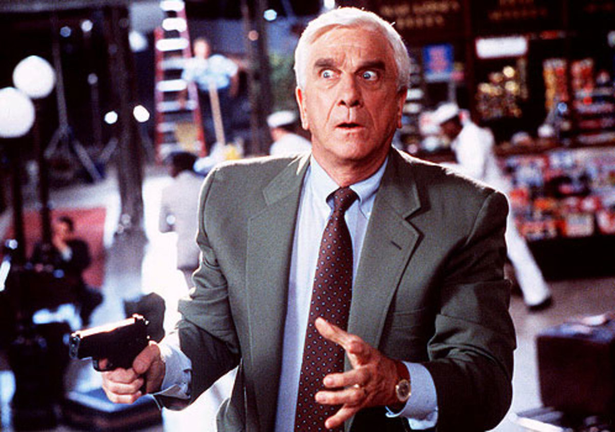 The film retains much of the original's zaniness thanks to a pitch perfect delivery from Leslie Nielsen as the hapless Drebin.
