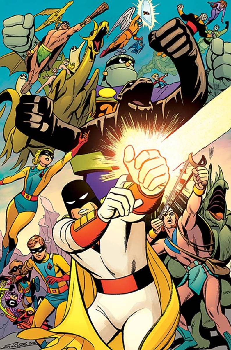 Space Ghost led the way for the multitude of superheroes Hanna-Barbera would create.