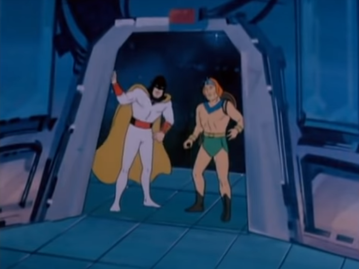 Space Ghost would be revived in 1981 for new episodes, which included team-ups with heroes like the Herculoids.