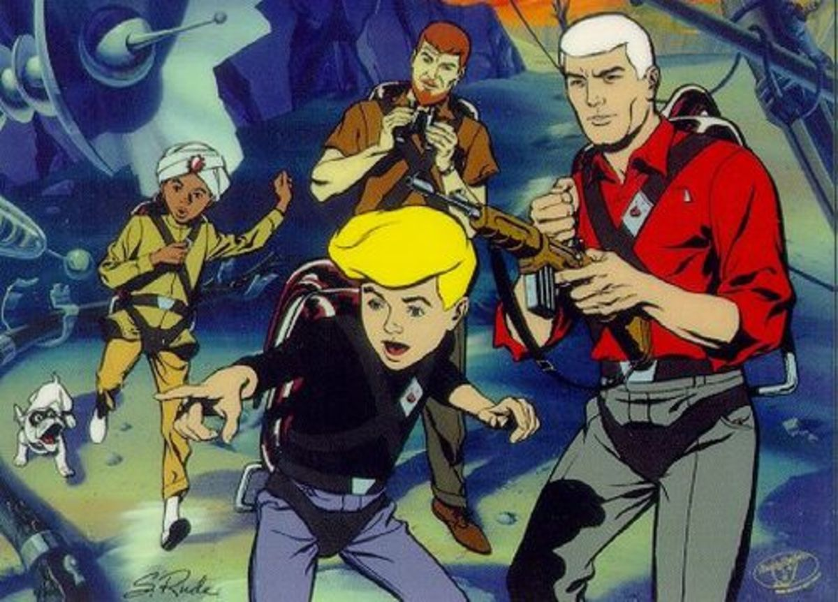 The only action cartoon Hanna-Barbera had produced before was Jonny Quest, which would act as a template for their new project.