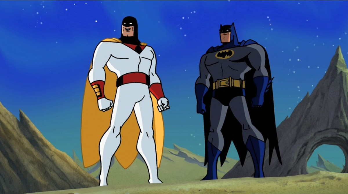 "Space Ghost teamed up with Batman in a 2010 episode of ""Brave & the Bold""."