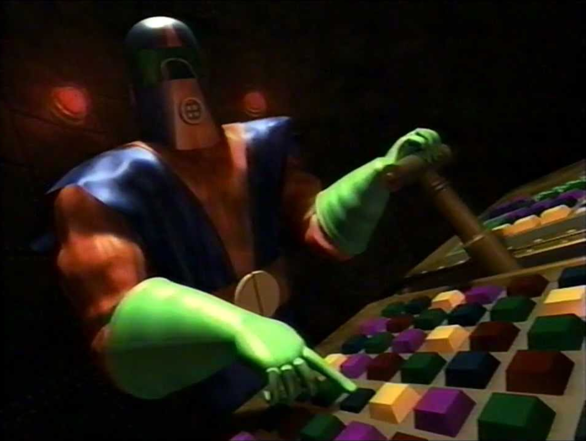 In 1997, Space Ghost villain Moltar would become the inagural host of Cartoon Network's long-running Toonami action block.