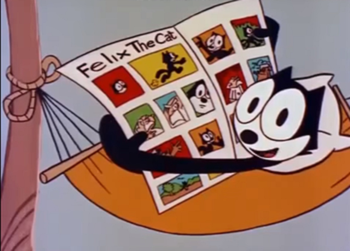 In part due to the comic strip keeping Felix alive, a TV cartoon was helmed by Oliolo.