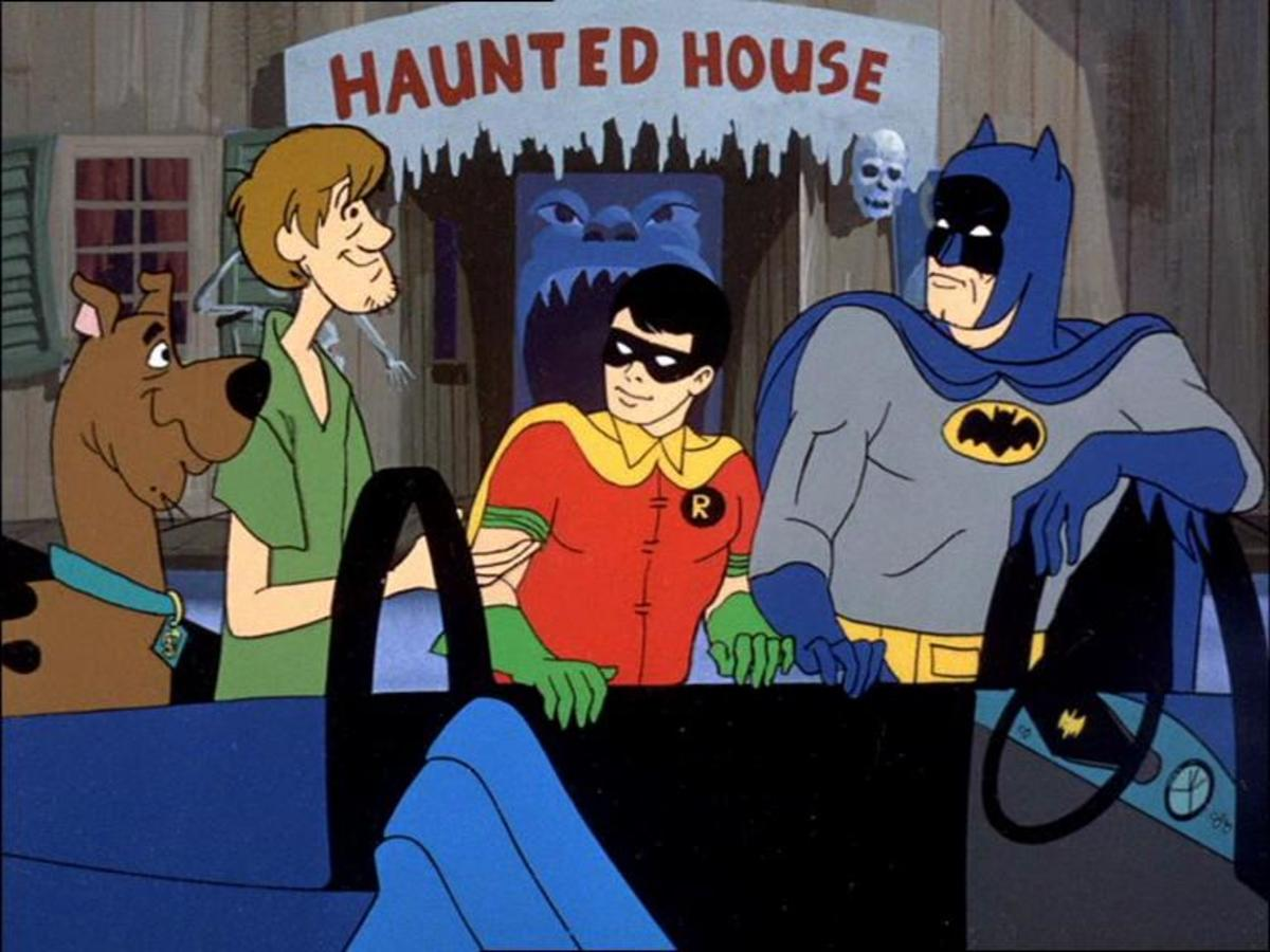 Olan Soule and Casey Kasem would go on to be the long-time voices of the Dynamic Duo for Hanna-Barbera.