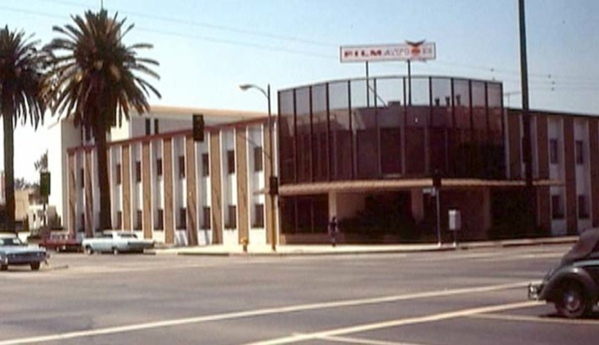 The new Filmation production building.