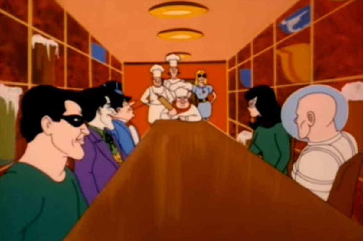 The cartoon featured many of Batman's recognizable cast of villains, as well as some new ones.