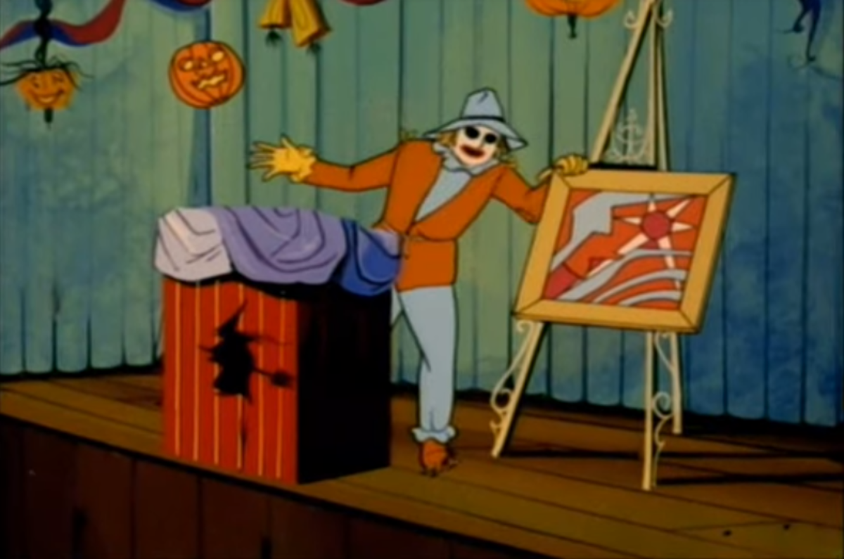 It was the first time Scarecrow had appeared outside of the comics, but it was largely a name-only appearance.
