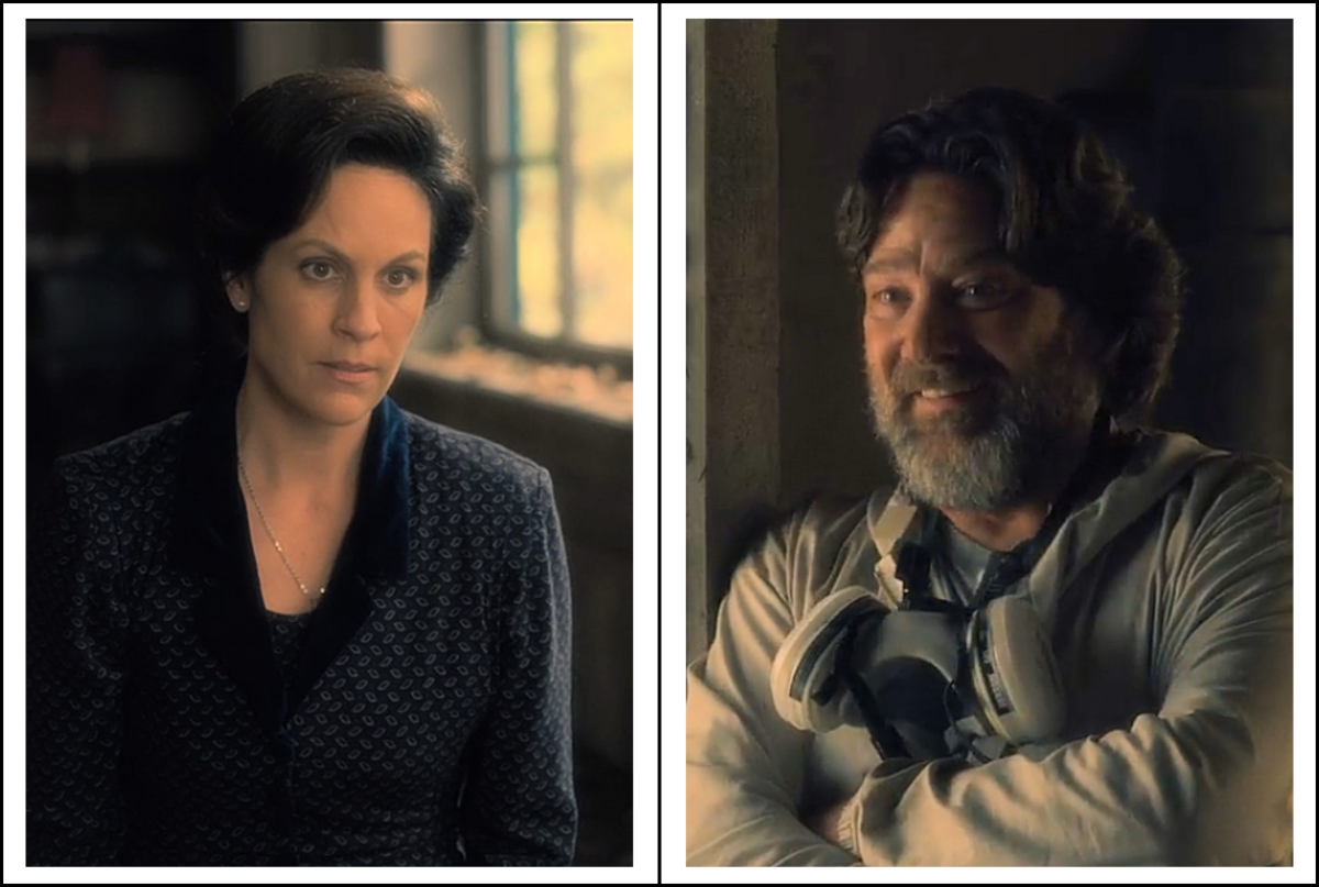 Annabeth Gish as Clara Dudley and Robert Longstreet as Horace Dudley in 'The Haunting of Hill House'  season 1 (2018), a Netflix Original Series.