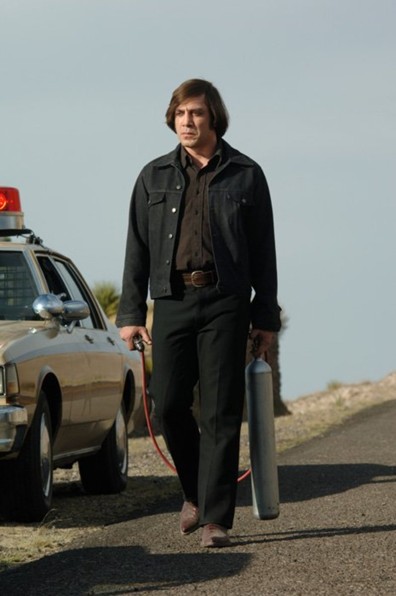 Bardem is the film's true star - a malevolent and amoral killer with a twisted view of the world and a shocking taste for violence.