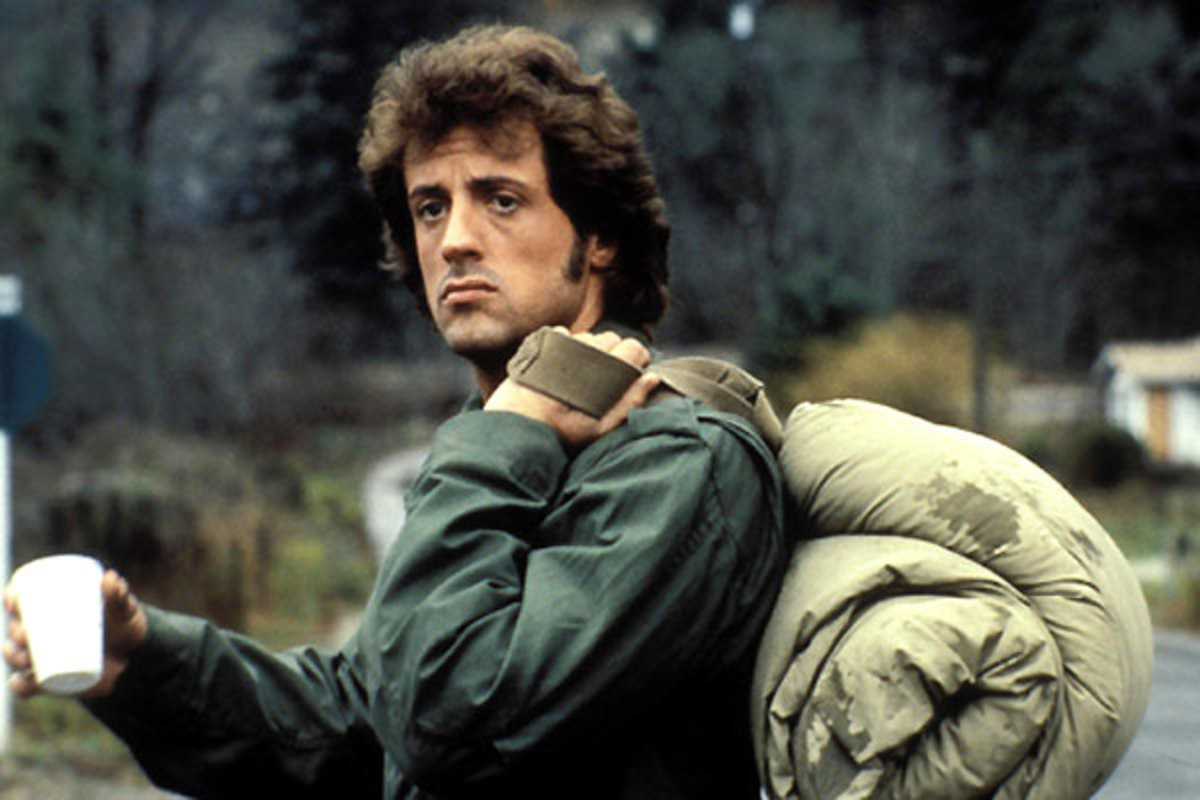 Stallone also contributed to the screenplay, which studies the character of Rambo more than you'd expect