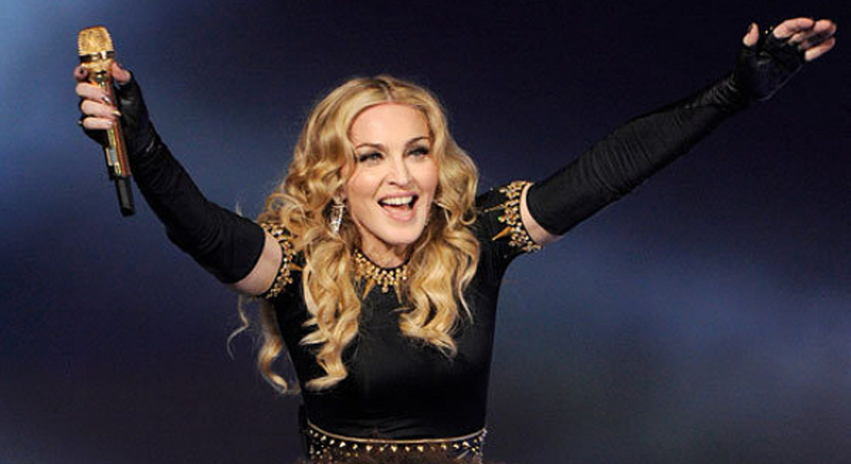 The film is hijacked by Madonna and turned into the sort of controversial vanity project she's so fond of.