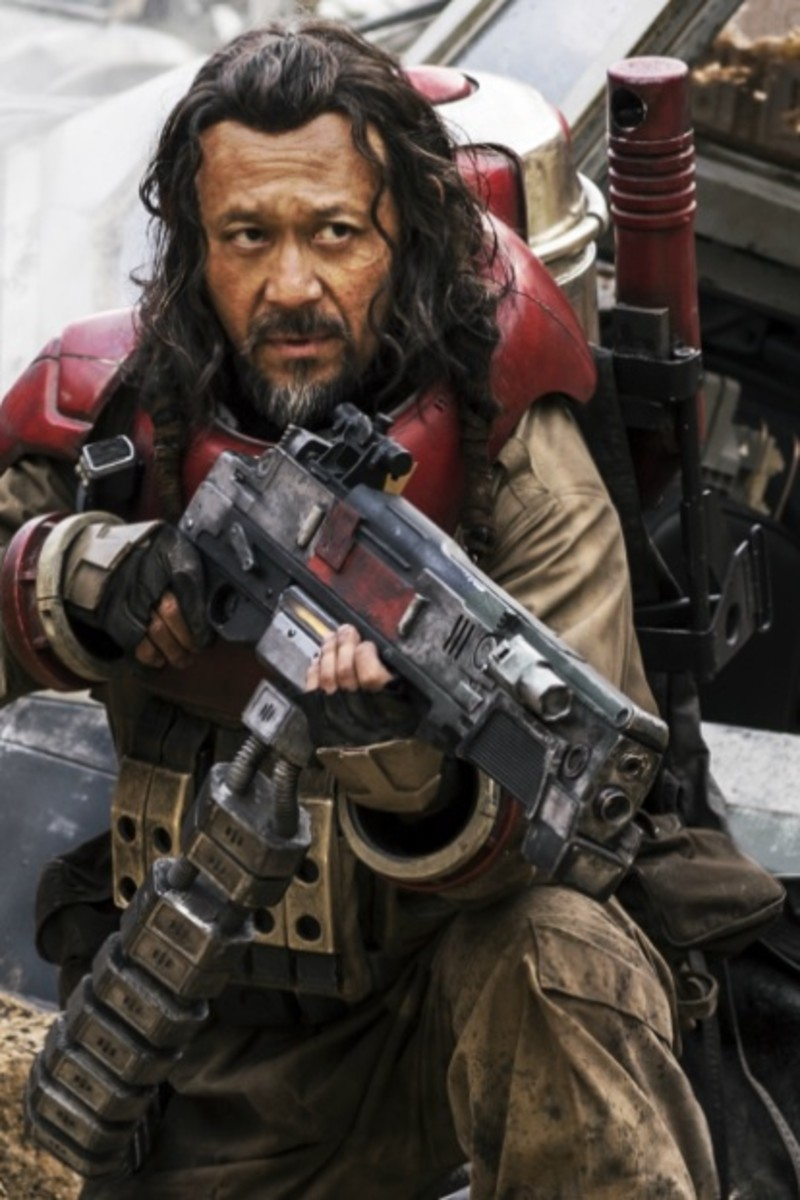 Baze Malbus - one of a number of cool characters who are sadly underwritten.