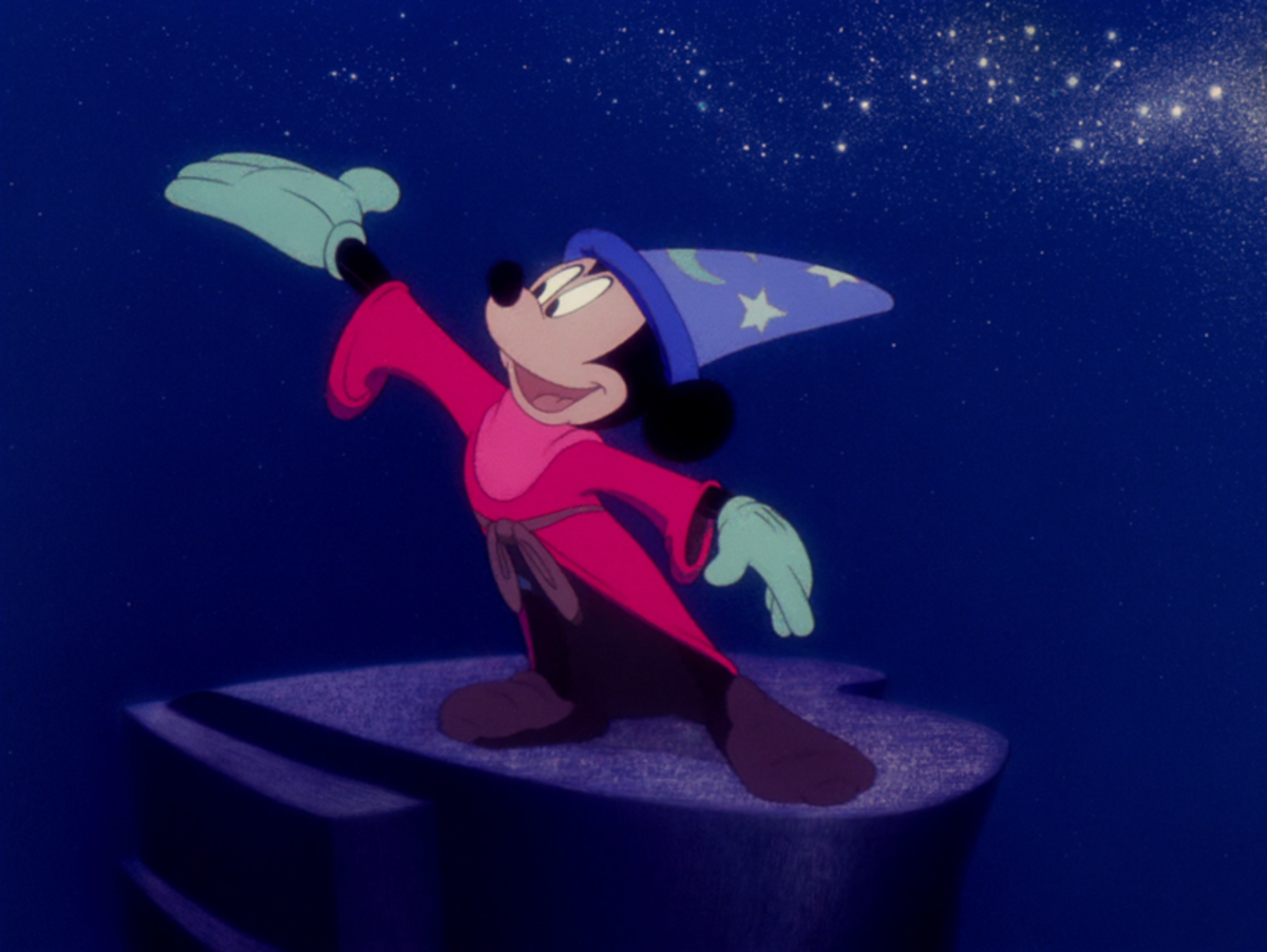 The film is most famous for the Sorcerer's Apprentice sequence, featuring Mickey orchestrating an army of brooms in a simply magical scene.