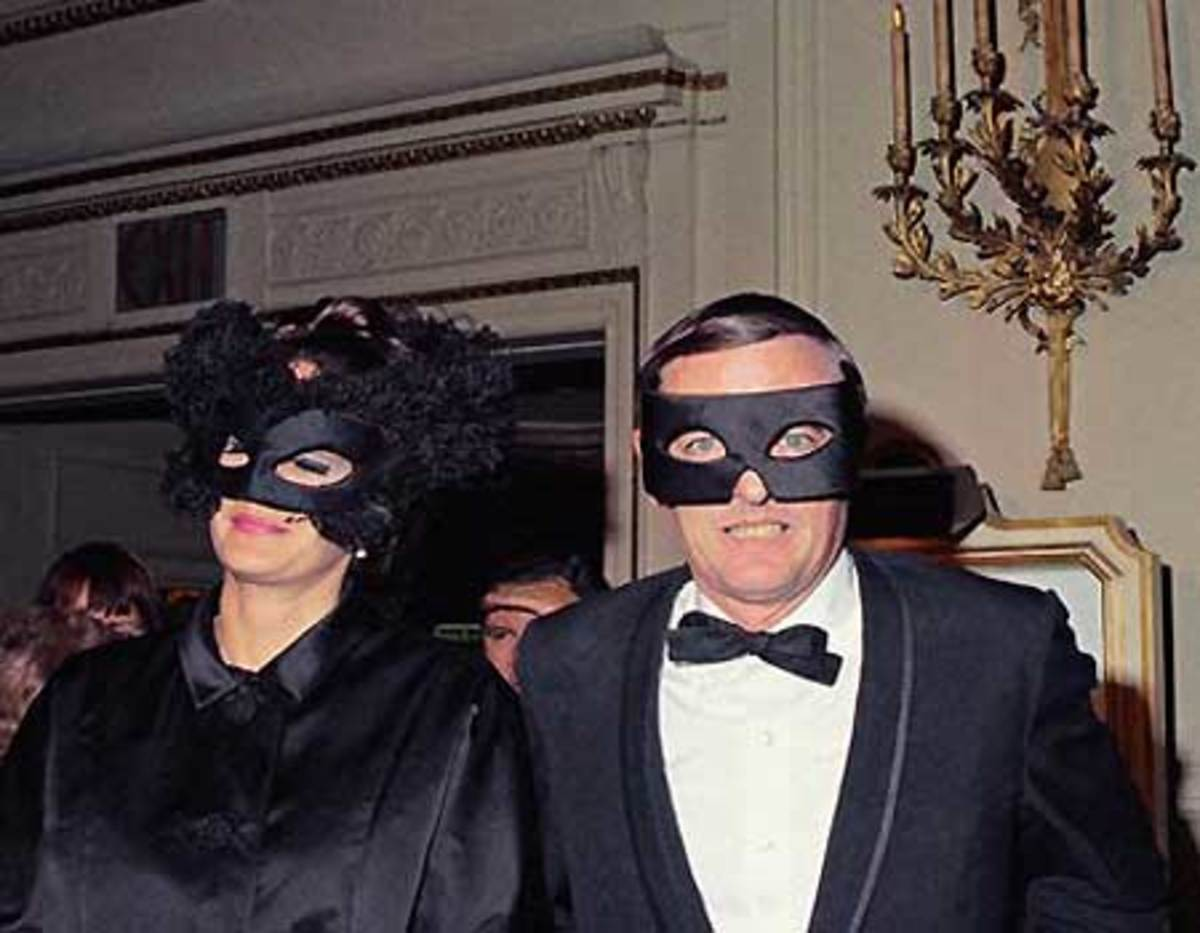 William F. Buckley And Wife Patricia