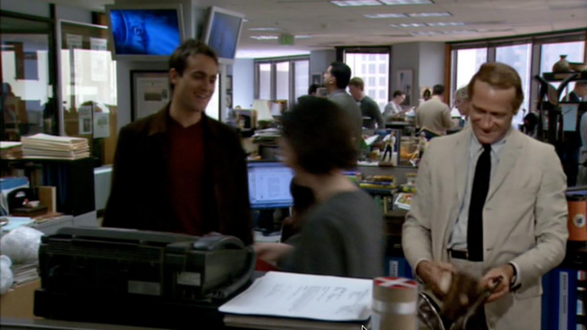 New Kolchak (Stuart Townsend) to Old Kolchak (Darren McGavin)