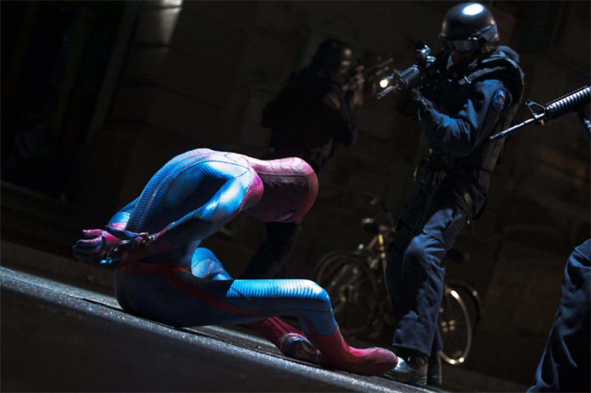 From the sheer spectacle and fun of Sam Raimi's trilogy, this reboot feels darker and slower but not necessarily better.