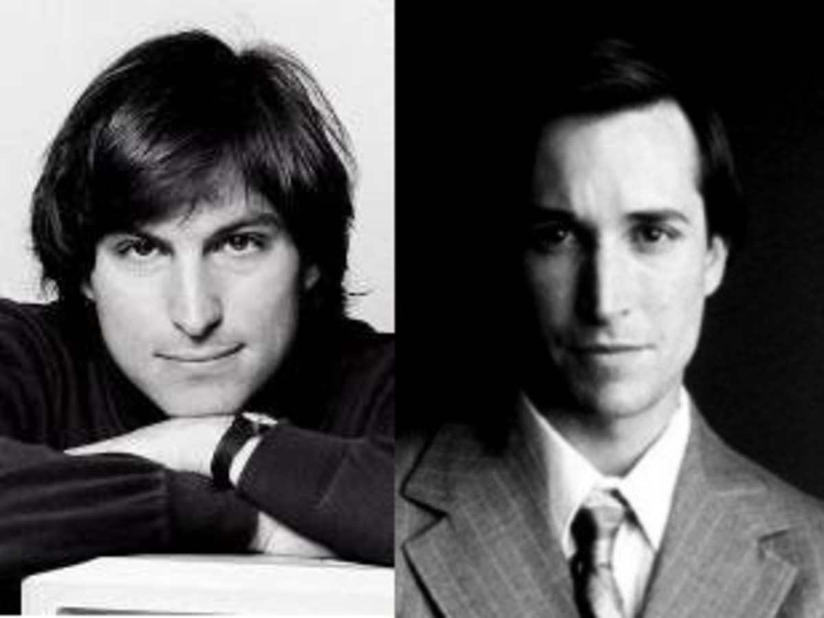 Steve Jobs (circa 1984) and Noah Wyle © Apple and TNT