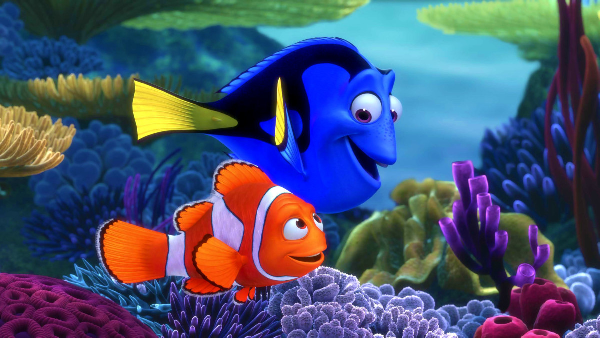 The film is brilliantly awash with colour, energy and memorable characters such as the forgetful Dory played by Ellen DeGeneres.