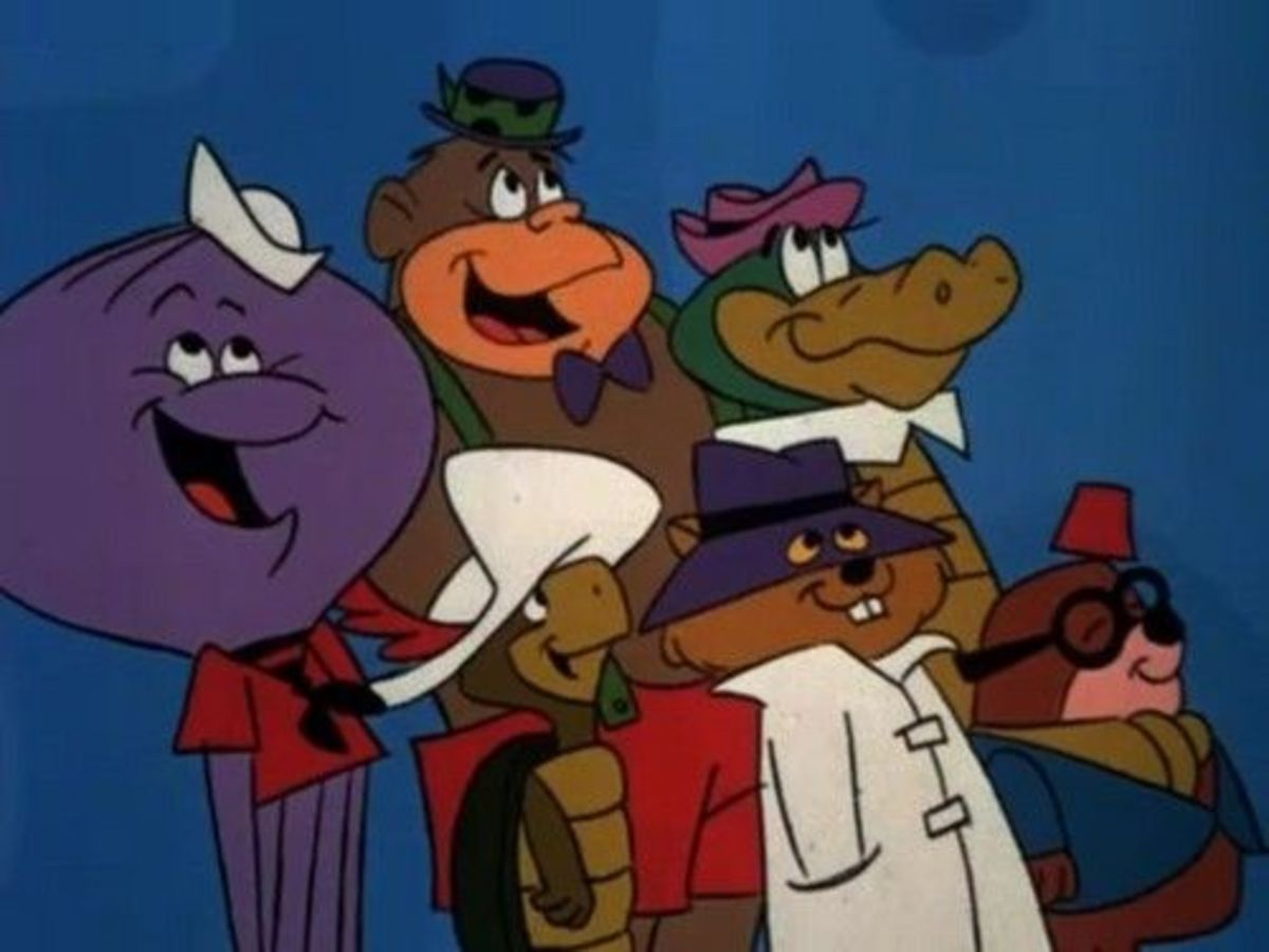 """Yogi's Gang"" featured many Hanna-Barbera characters, including those seen on Atom Ant/Secret Squirrel."