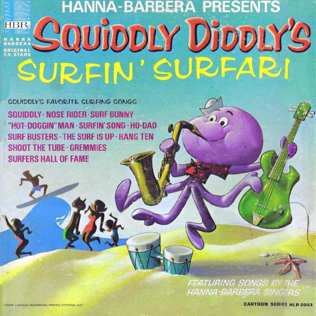 Squiddily's real life LP album.