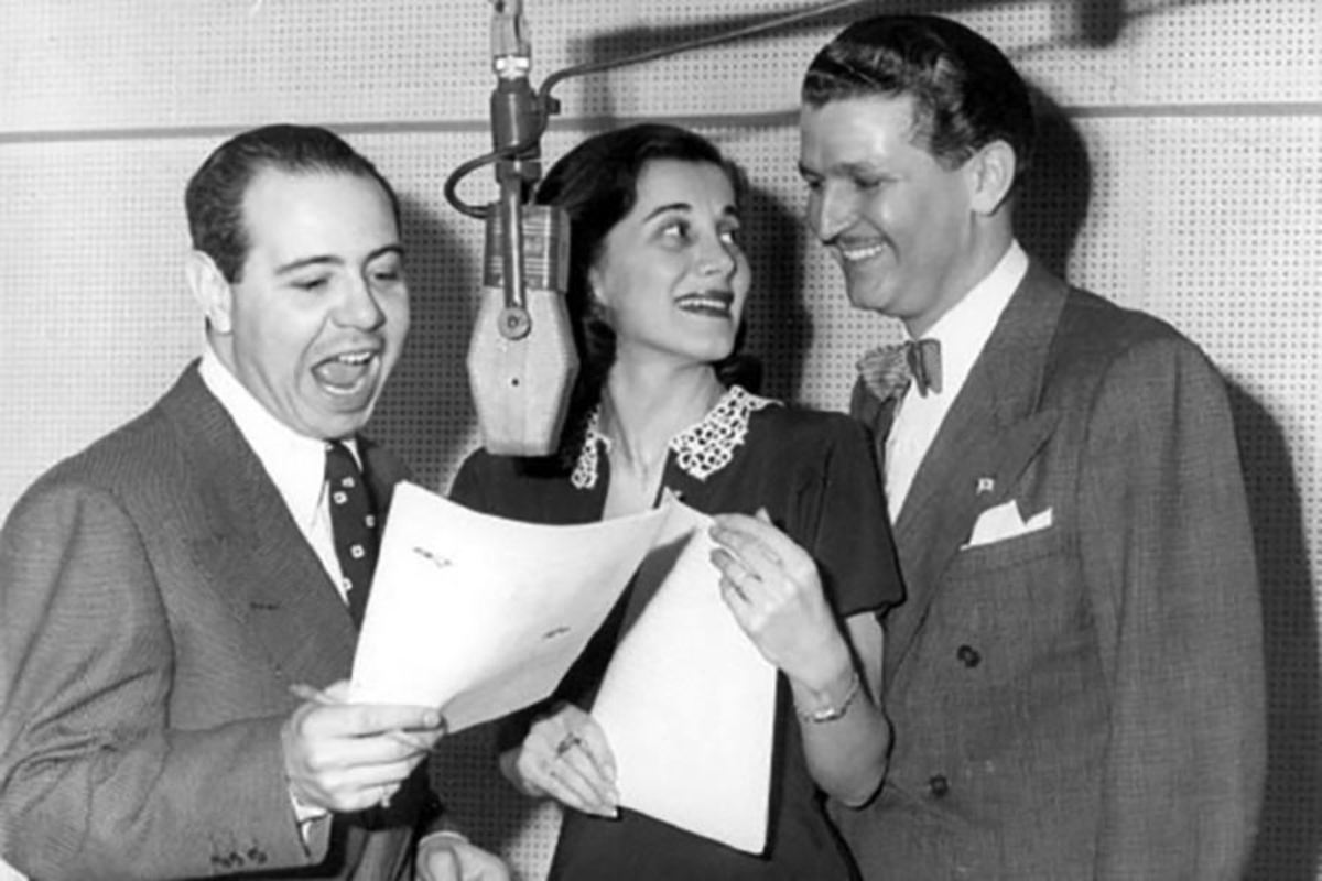Jackson Beck, Joan Alexander, and Bud Collyer reprised their roles from the 1940's Superman radio program
